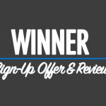 Winner sign up offer