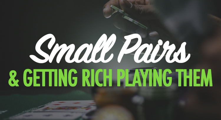 How to play small pocket pairs