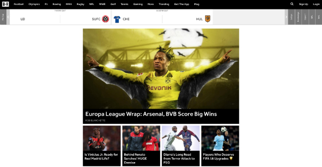 Best Sport Blog: Bleacher Report
