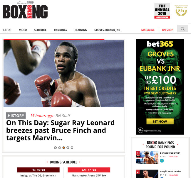 Boxing News - Best Sports Blogs