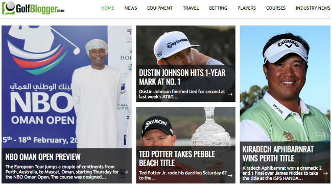 Best Sport Blogs: Golf Blogger