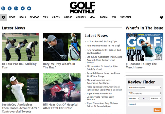 Best Golf Blogs: Golf Monthly