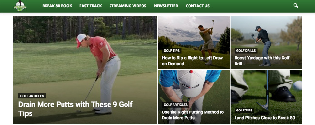 Best Sports Blogs: How To Break 80