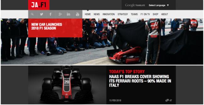 Best Formula 1 Blogs - James Allen on F1