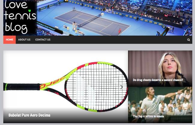 Best Sport Blog: Love Tennis
