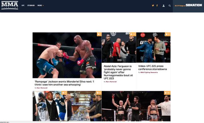 Best MMA Blogs: MMA Fighting