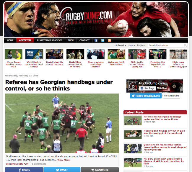 Best Rugby Blogs: Rugby Dump