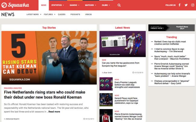 Best Sports Blogs: Squawka Football Blog