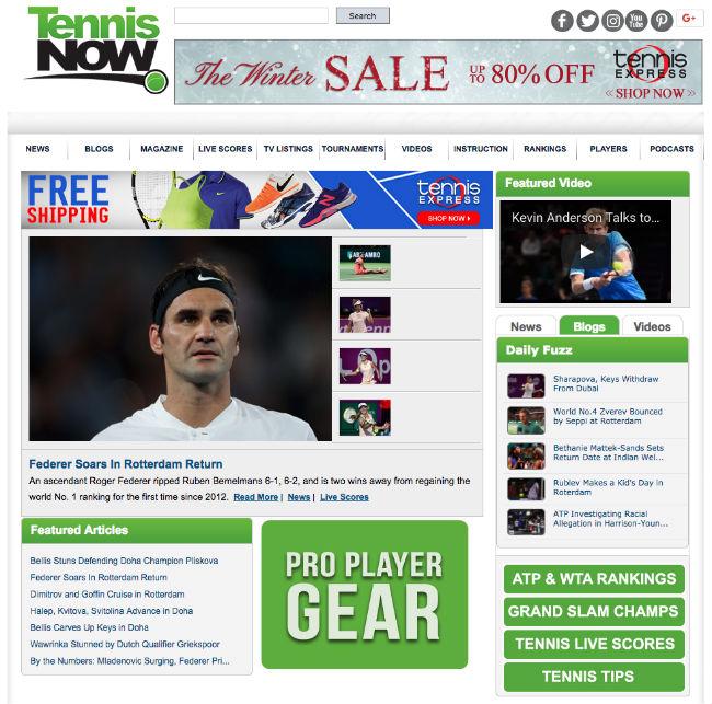 Best Tennis Blogs: Tennis Now