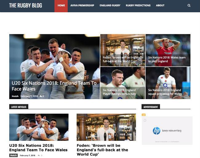 Best Rugby Blog