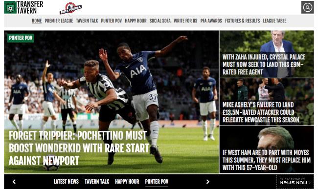 Best sports blogs Football Transfer Tavern