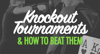 Poker knockout tournament strategy