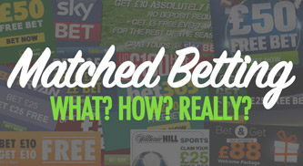 What is matched betting & how do you do it?