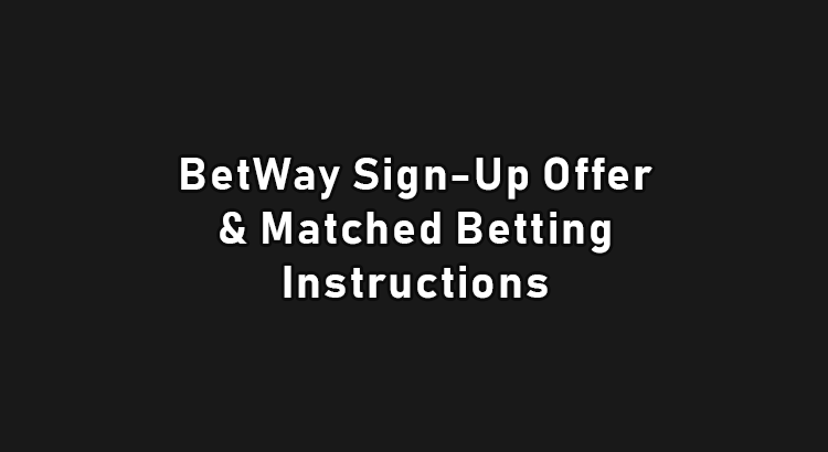 Betway sign up offer