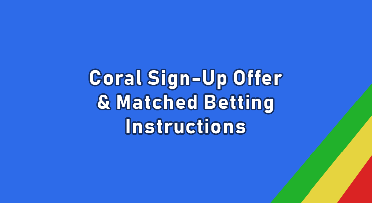 Coral sign up offer
