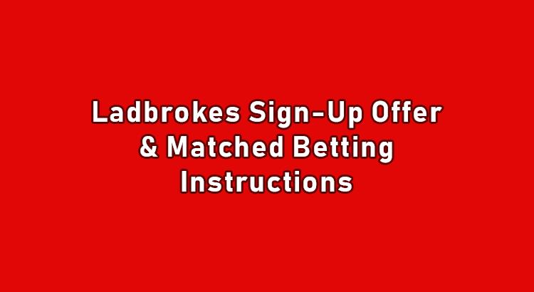 Ladbrokes sign up offer