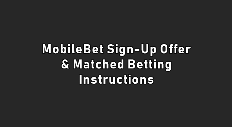 Mobilebet sign up offer