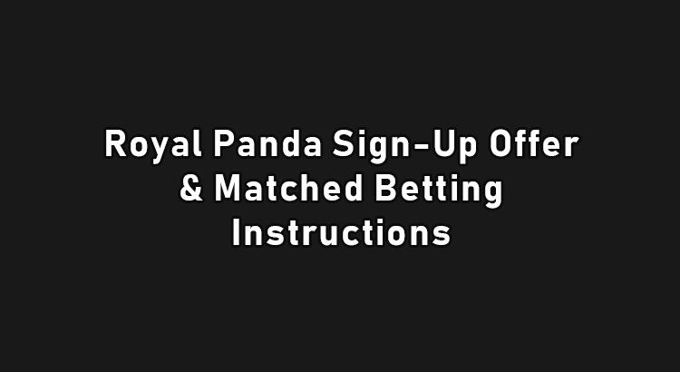 Royal Panda sign up offer
