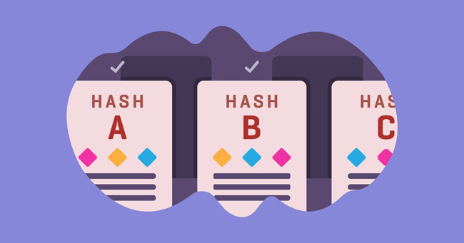 Hashing in blockchain algorithm