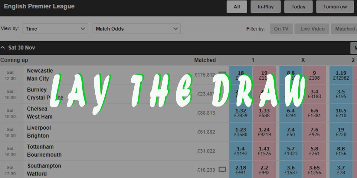 Lay draw betting system winnerbetting